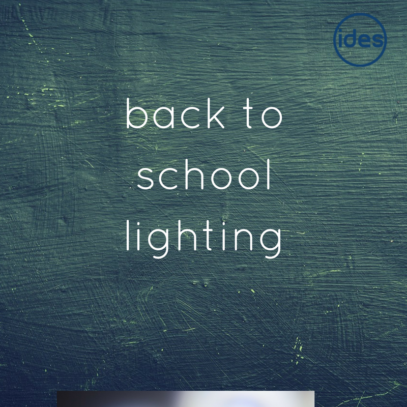 Industrial and domestic lighting specialists in Lancashire, IDES UK, explore how energy efficient lighting can positively impact on schools