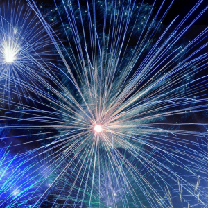 Images illustrating a blog about bonfire night fire safety