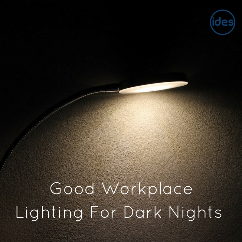 Lighting specialists IDES UK discuss workplace lighting