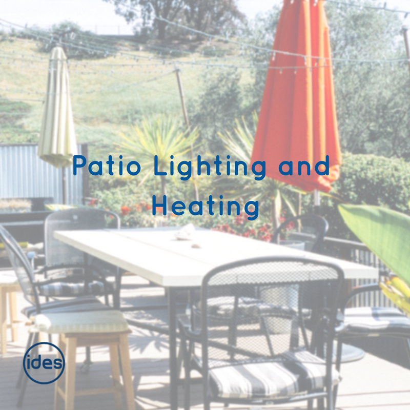 IDES blog about external lighting for the summer months