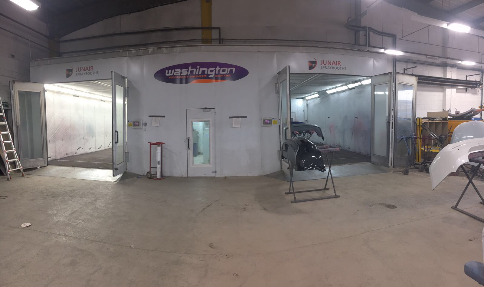 Spraybooth Launch | IDES UK
