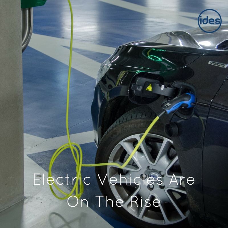 ROLEC accredited, electric vehicle charging specialists, IDES UK has a keen eye on the electric car market.