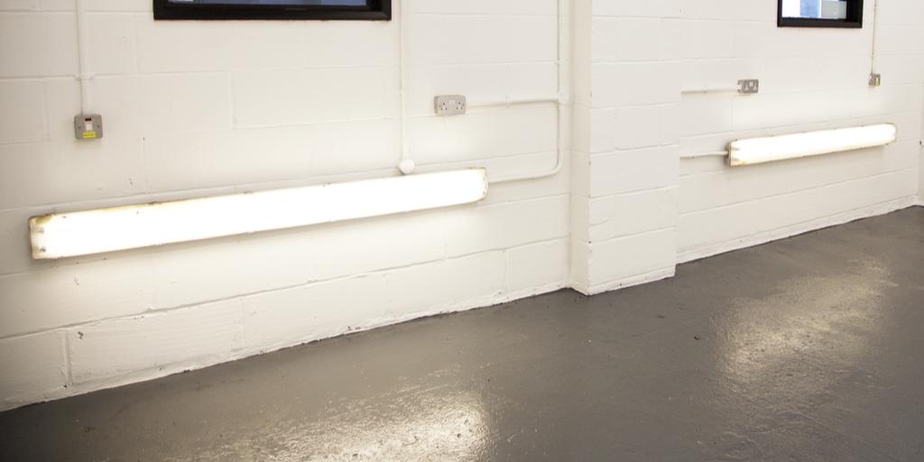 bespoke spray booth lighting spray booth london