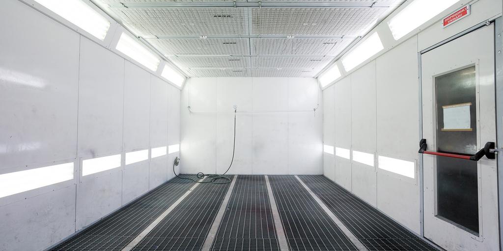spray booth lighting spray booth london