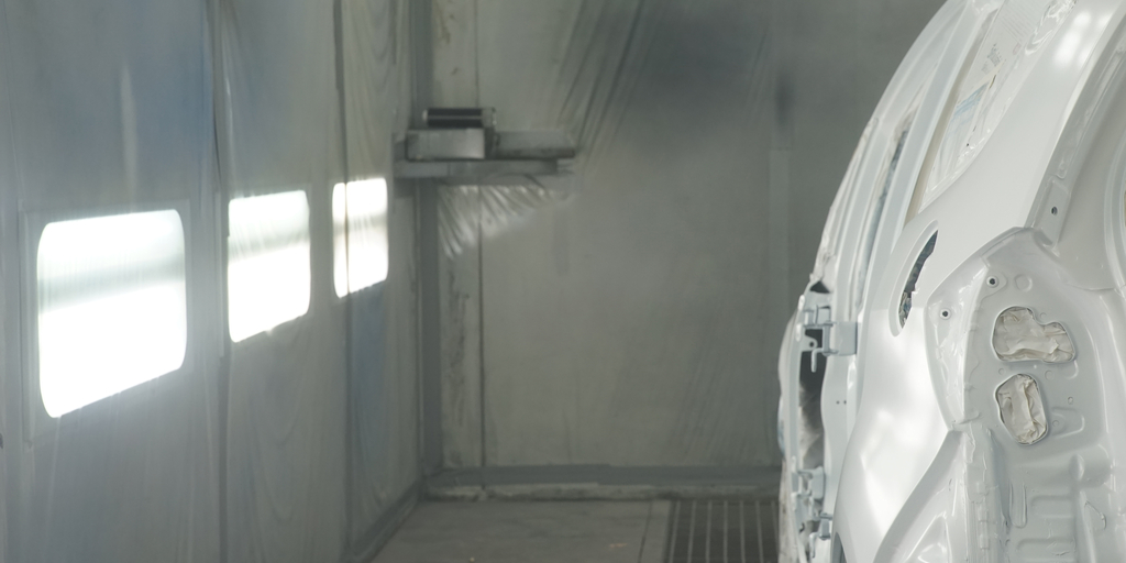 what is industrial lighting spray booth lighting