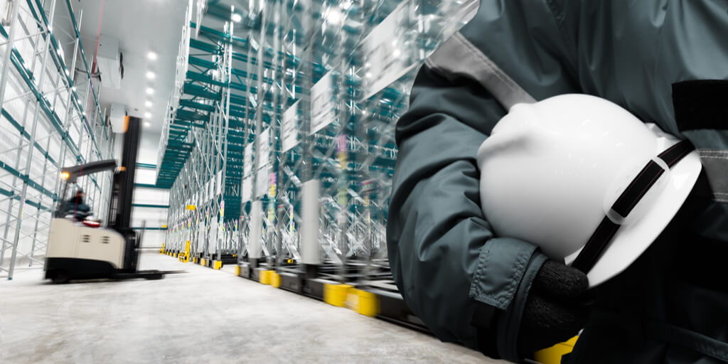 LED warehouse lighting health and safety