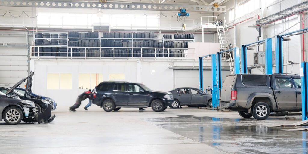 importance of vehicle body shop lighting