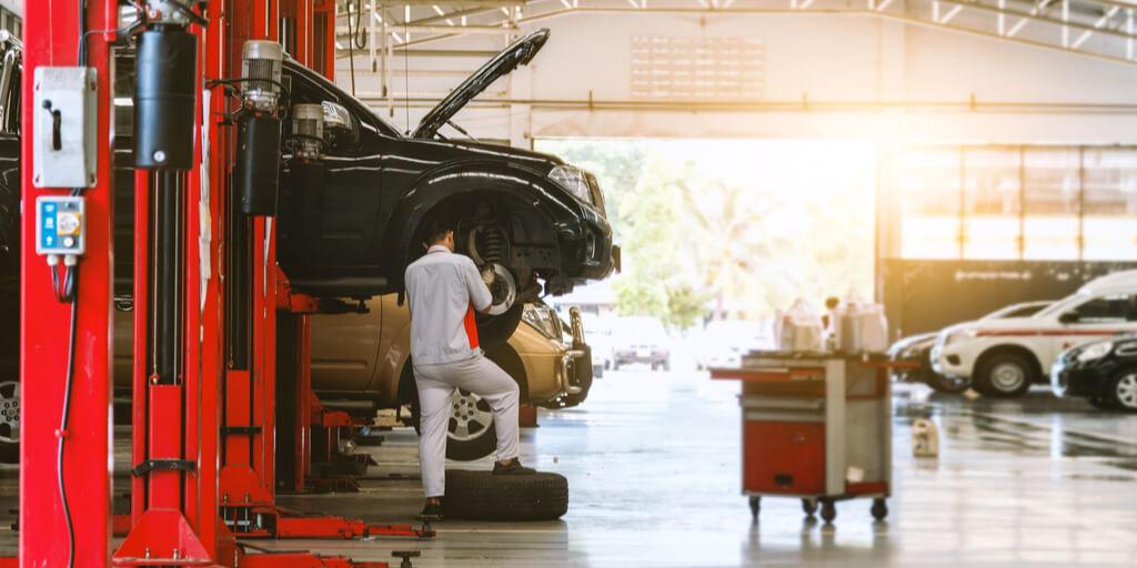 car body shop lighting body shop automotive industry